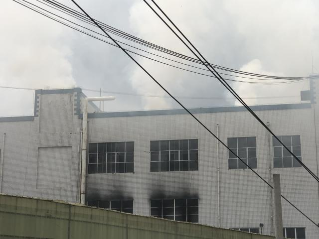 Guiyang City factory fire put out