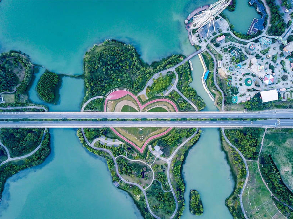 Heart-shaped attractions around the world