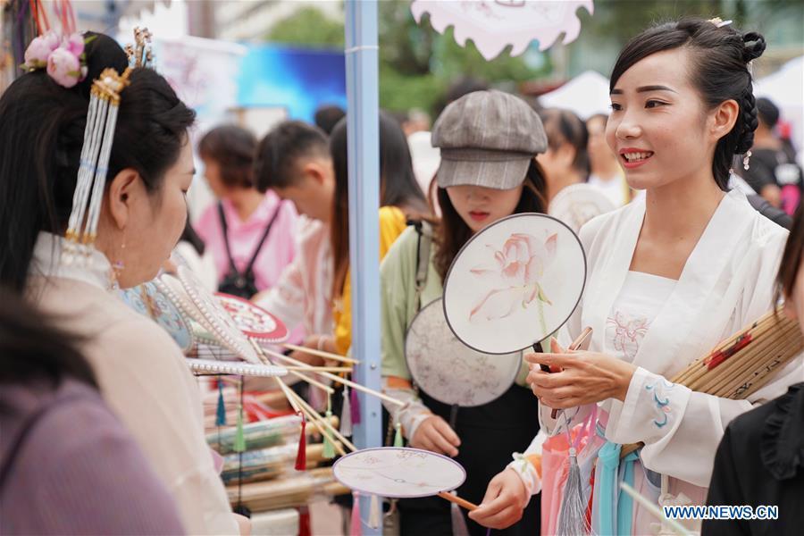 People celebrate Qixi festival in China's Yunnan