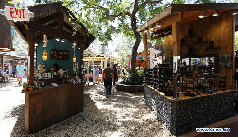 Laguna Beach Festival of Art held in California
