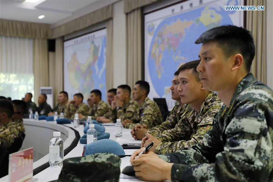 China, Kyrgyzstan hold joint counter-terrorism exercise