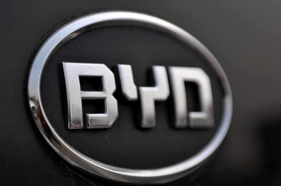 BYD NEV sales up 73% in Jan-July period