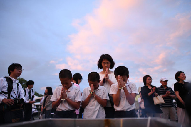 Japan's Hiroshima marks 74th atomic bomb anniversary