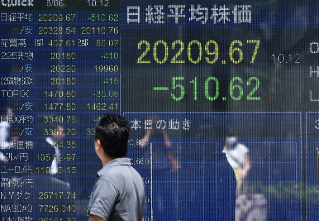 Tokyo stocks open lower as yen's rise dents sentiment