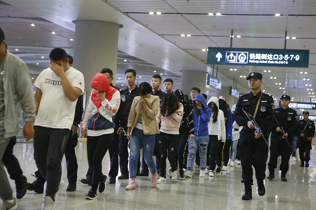 3,500 suspects captured in China's 'asset unfreezing' fraud crackdown