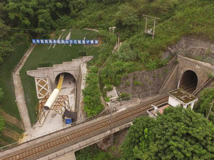 Completion of New Baishatuo Tunnel marked in Chongqing