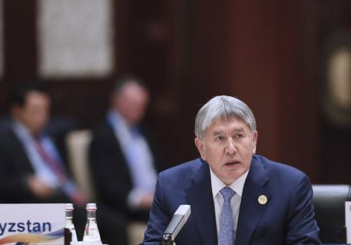 Kyrgyz special forces conduct operation to detain former president