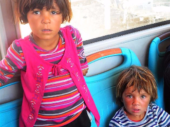 Displaced Syrian civilians reach government areas in central Syria
