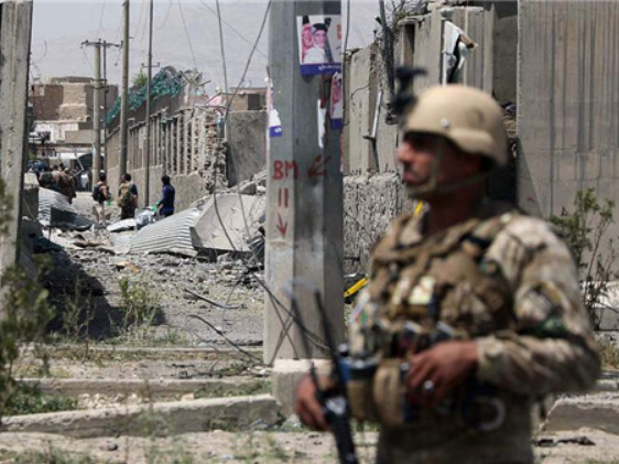 Taliban suicide blast in Kabul kills 14 people, wounds 145