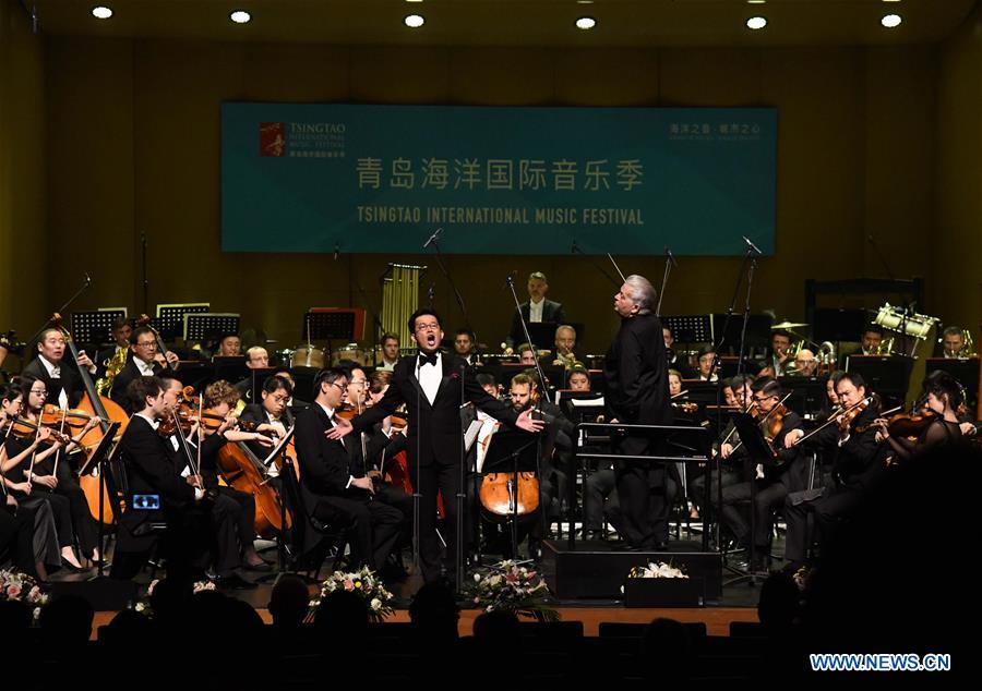 Tsingtao Int'l Music Festival held at Bluthner (Qingdao) Grand Theatre