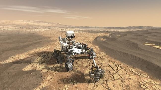 NASA engineers test cameras on Mars 2020 rover