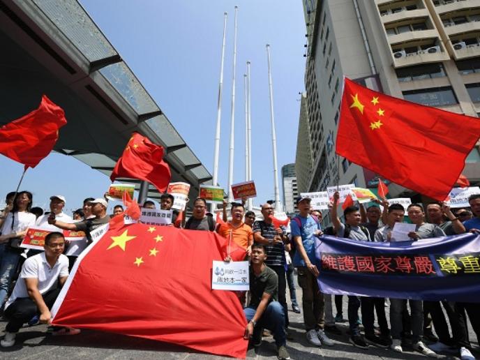 Hong Kong developers' group condemns violence