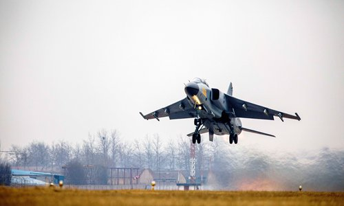 Chinese Air Force flies new version of fighter bomber