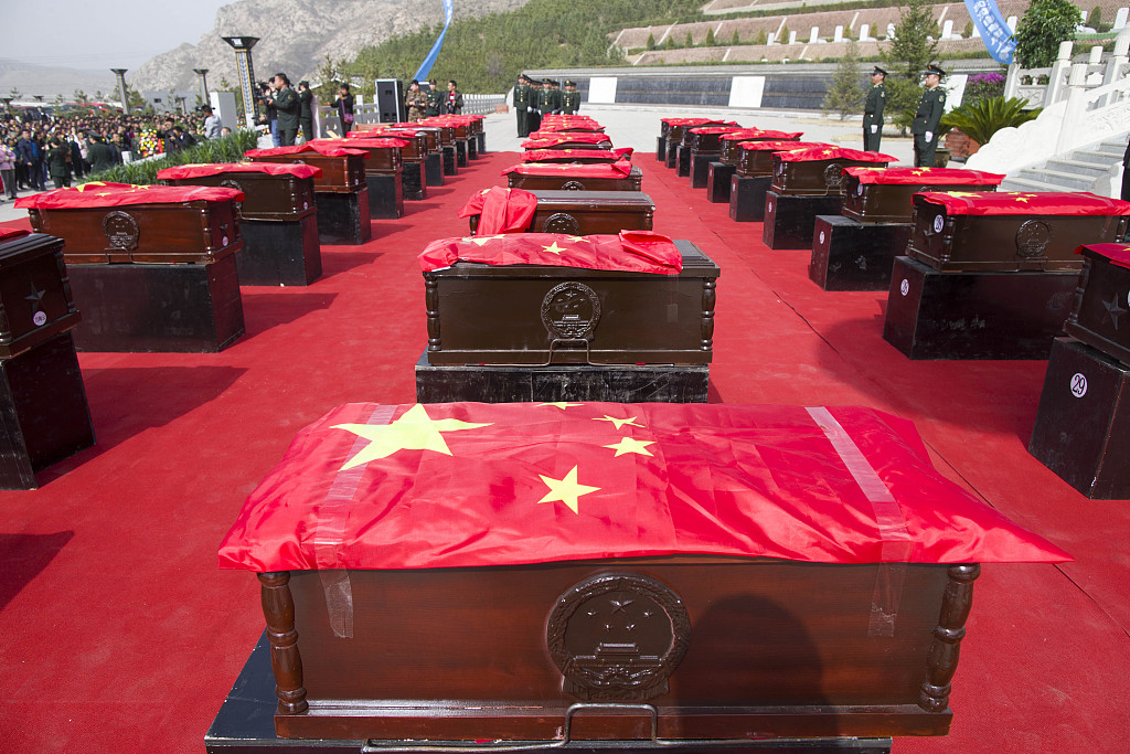 China revises rules for commending martyrs