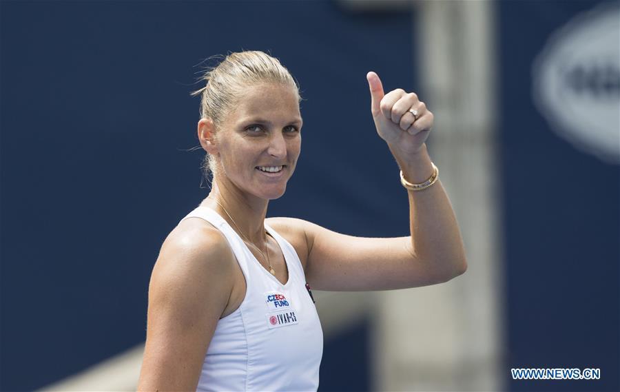 Karolina Pliskova beats Anett Kontaveit 2-0 at 2019 Rogers Cup