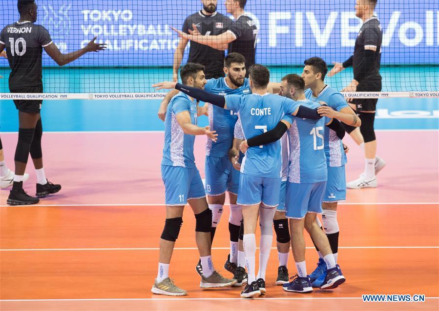 2019 FIVB Tokyo Volleyball Qualification: Argentina vs. Canada