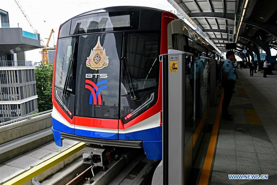 Bangkok metro Green Line north extension launched on trial run