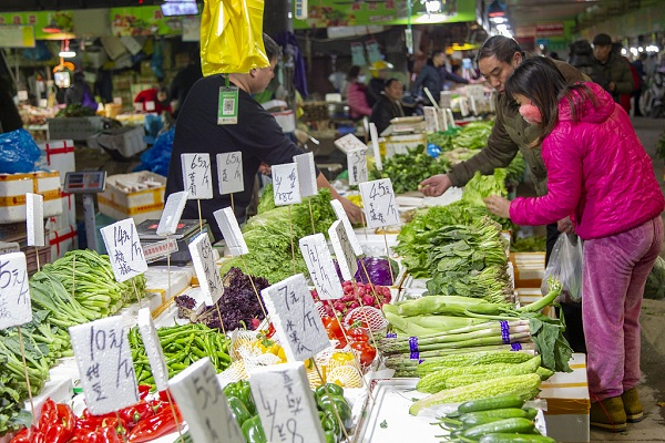 China's CPI up 2.8 pct in July