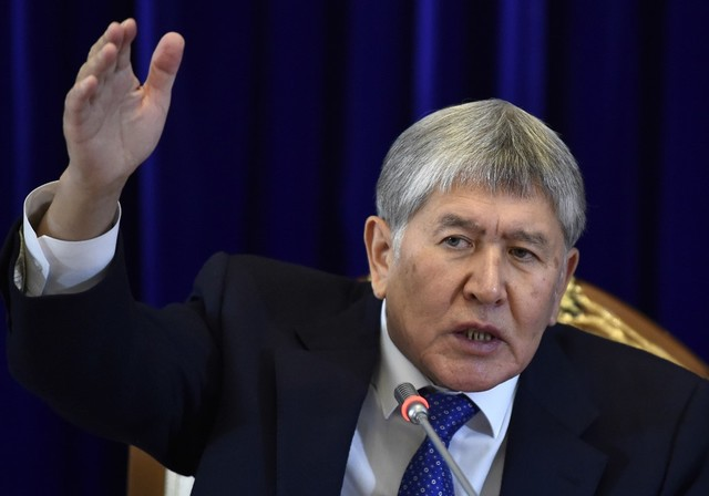Former Kyrgyz President Atambayev detained by authorities