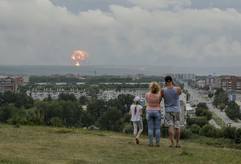 Russian military says 2 dead, 4 injured by rocket explosion