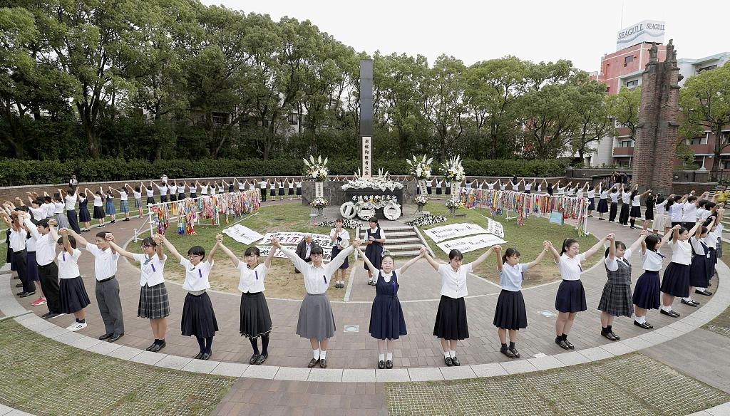 Japan urged to remember WWII atrocities as Nagasaki marks 74th anniversary of atomic bombing