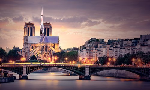 Chinese architects win Notre-Dame Cathedral design competition