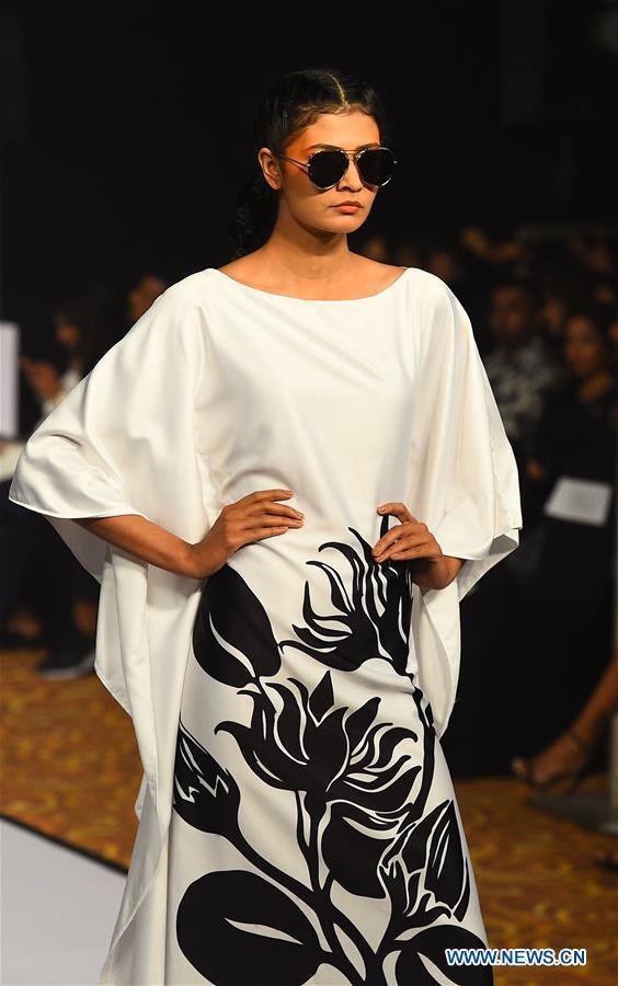 Local designer's creations presented at Olu Swim Week in Colombo, Sri Lanka