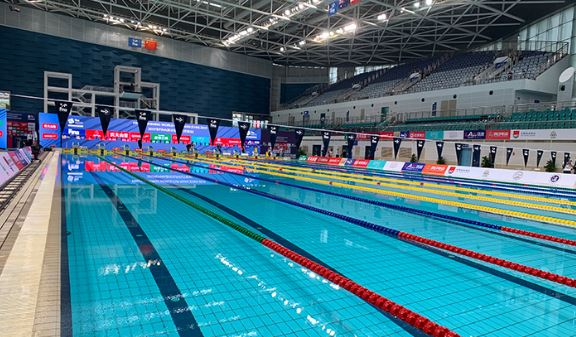 China grabs two golds on Day 1 at FINA Swimming World Cup in Jinan