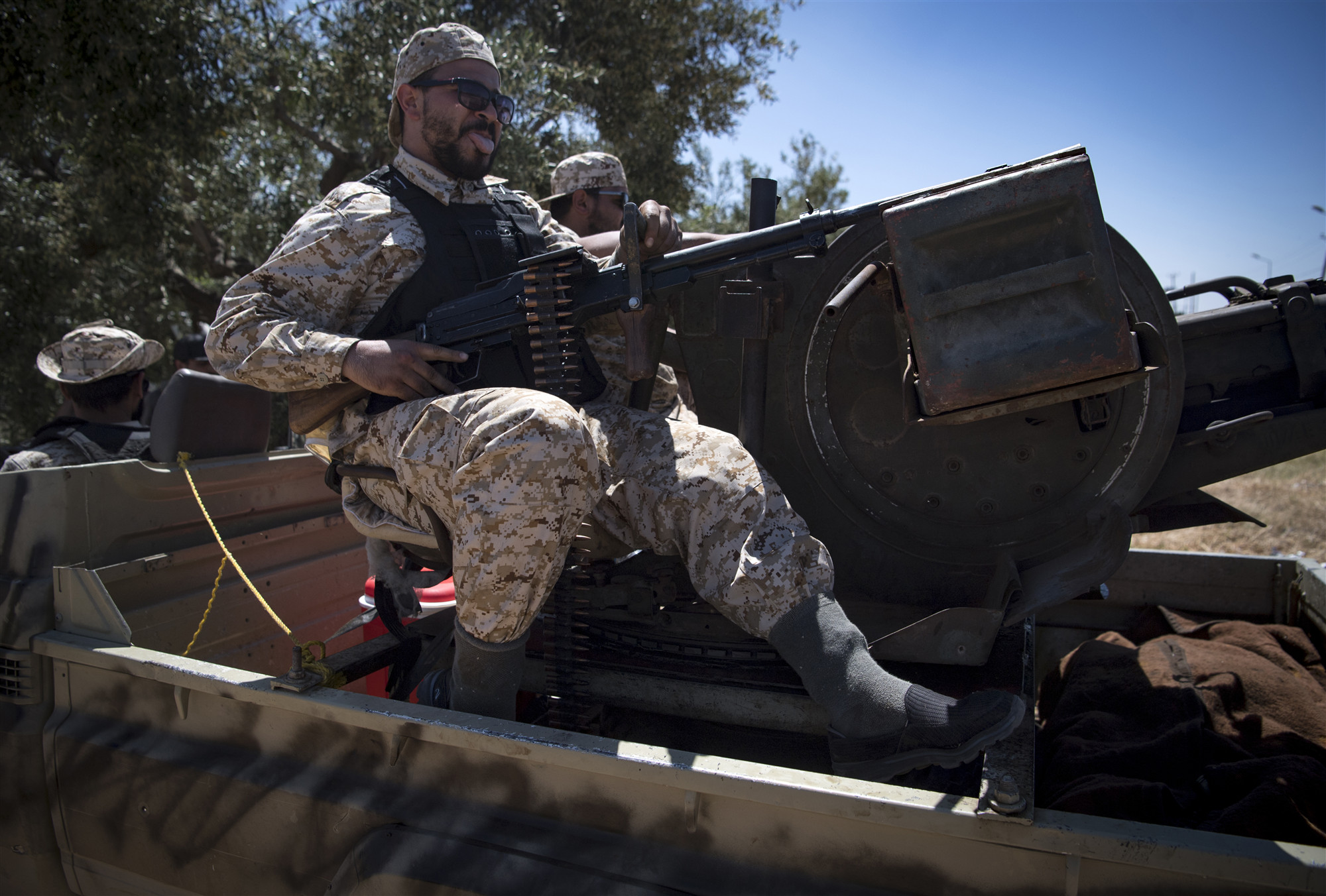 Libyan army accepts UN-proposed truce