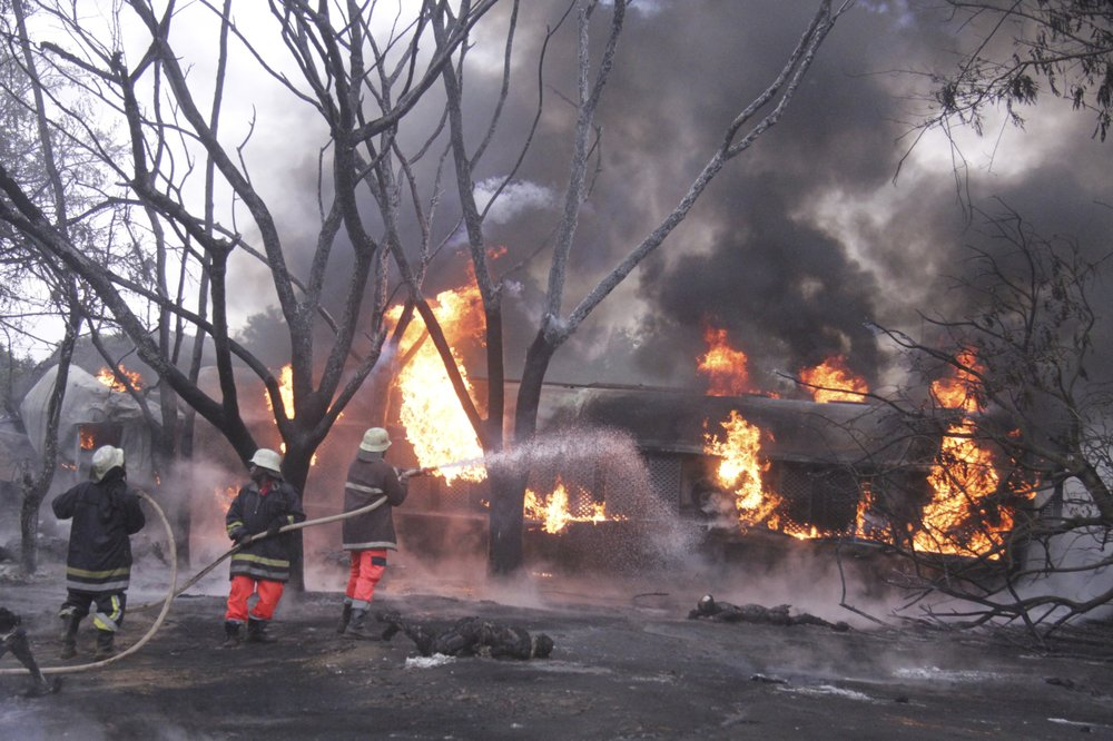 At least 60 people killed in petrol tanker explosion in Tanzania: official