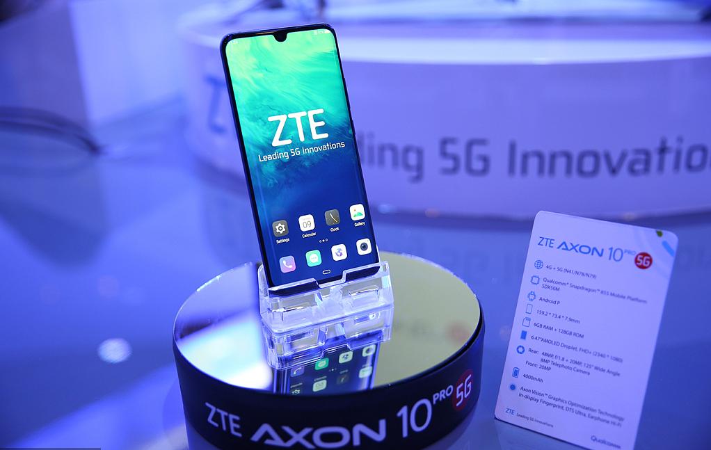 ZTE starts selling 5G smartphones