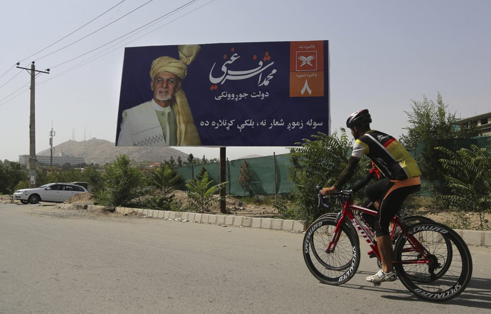 Afghanistan election in doubt as US, Taliban near deal