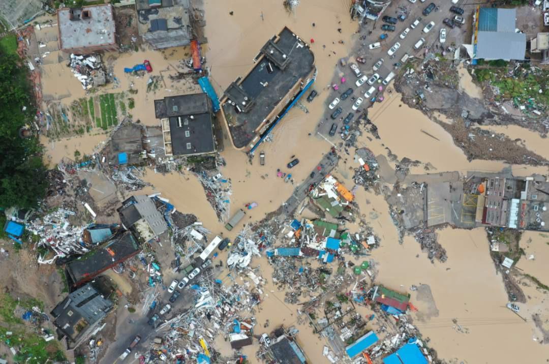 Typhoon Lekima floods eastern China