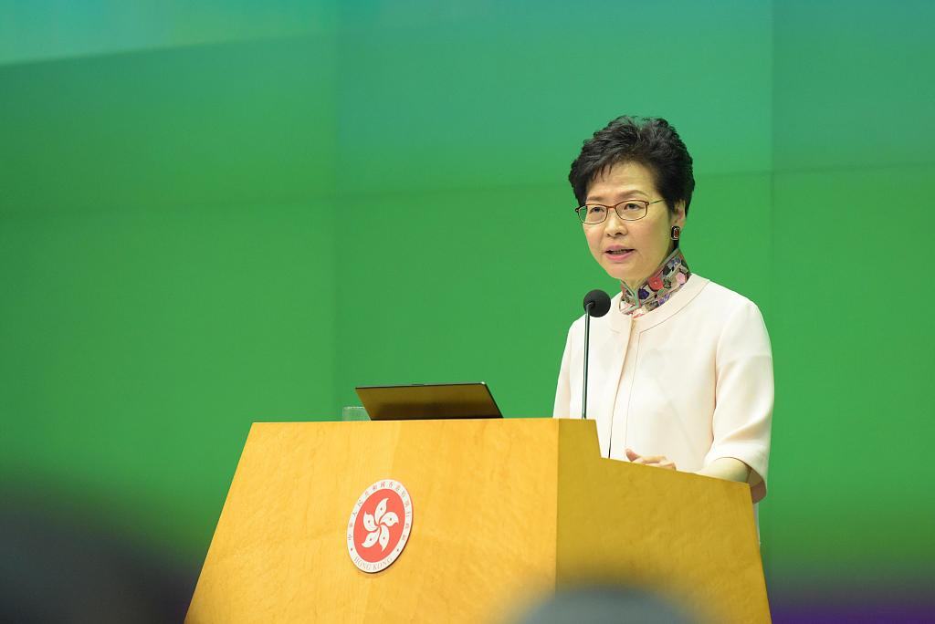 HKSAR chief executive says to be more patient in reaching out to young people