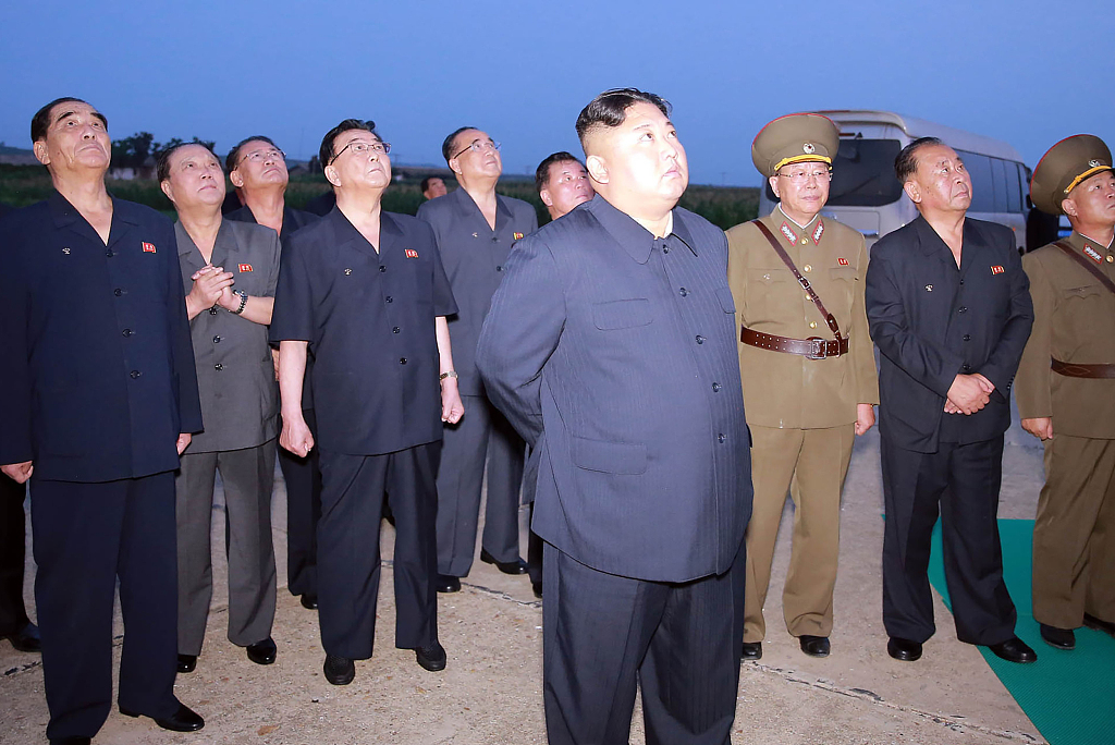 DPRK top leader guides test-fire of another new weapon