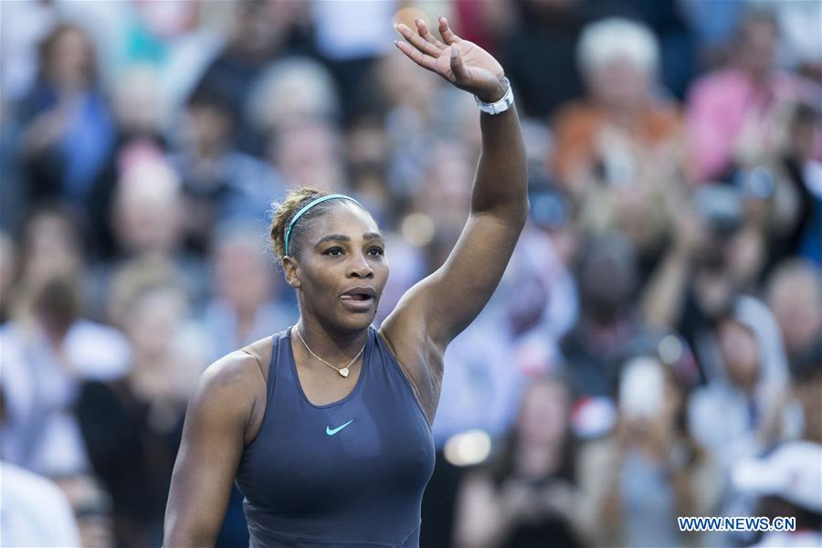 Highlights of women's singles semifinals at 2019 Rogers Cup