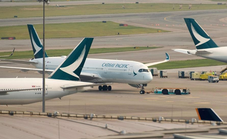 Cathay Pacific pilot charged with rioting in Hong Kong removed from flying duties