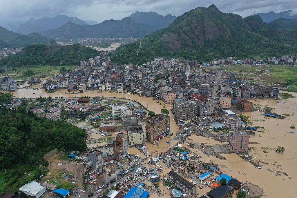 More than 6 million people in China affected by Typhoon Lekima