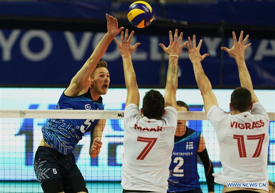 Men's Volleyball Olympic Qualification: Canada vs. Finland
