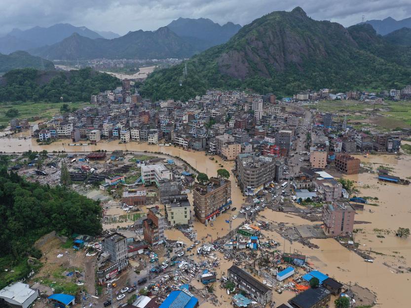 Typhoon Lekima leaves 44 dead, 16 missing in China