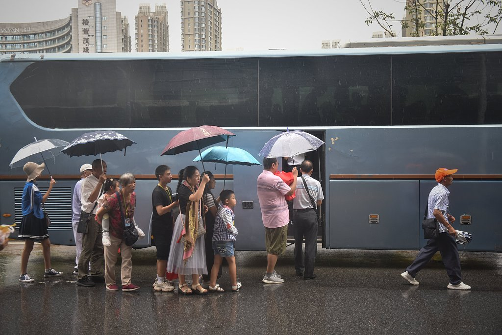 Over 126,800 relocated in NE China province as Typhoon Lekima nears