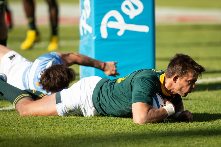 Pollard stars as Springboks win Rugby Championship for first time