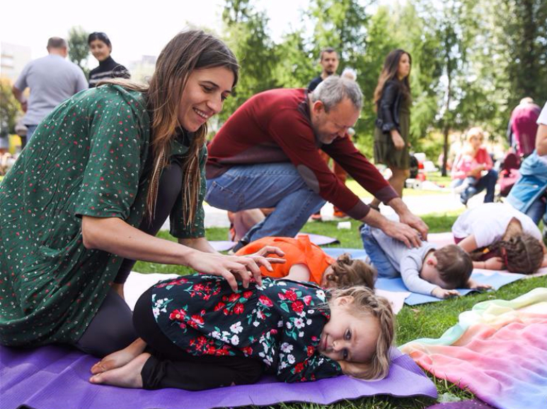 'This Is My Practice' maternity festival takes place in Moscow