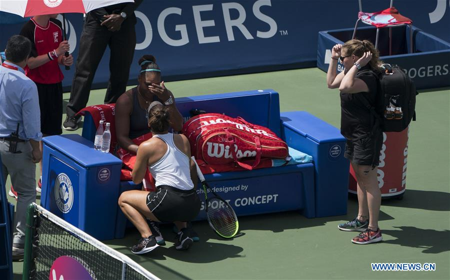 Bianca Andreescu of Canada claims title of women's singles final at 2019 Rogers Cup