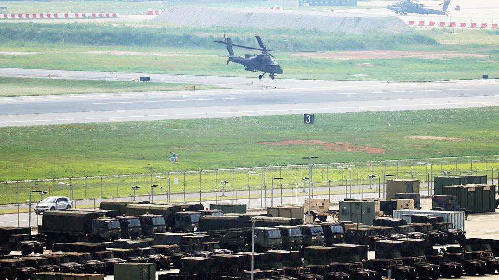 DPRK says US-ROK joint drills hinder inter-Korean talks