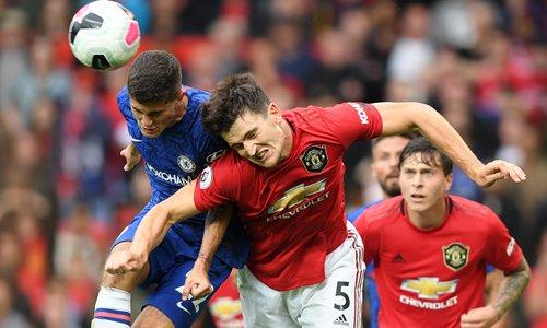 Rampant Man United thrash Chelsea