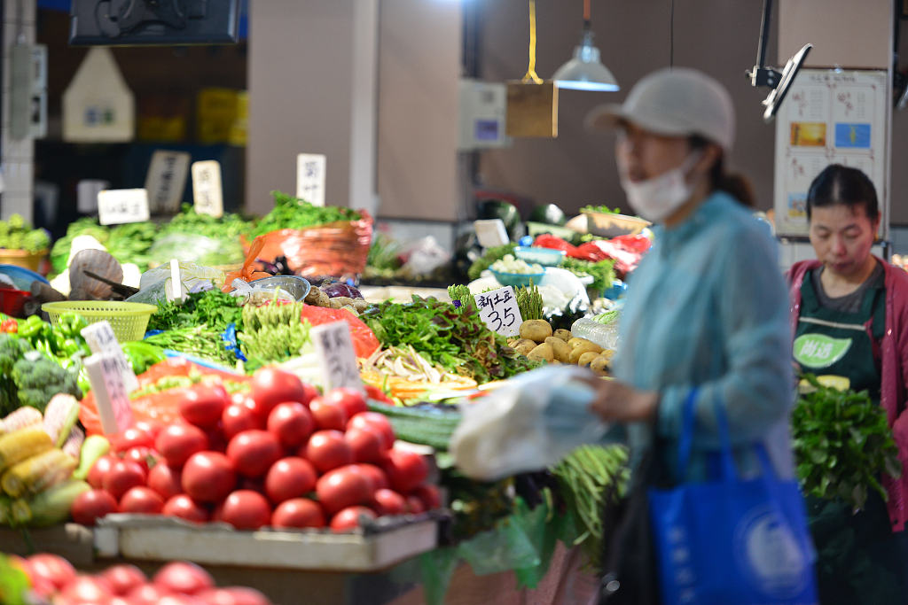 China Shouguang vegetable price index up 4.03 pct