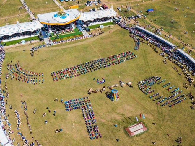 Nadam fair held in China's Inner Mongolia