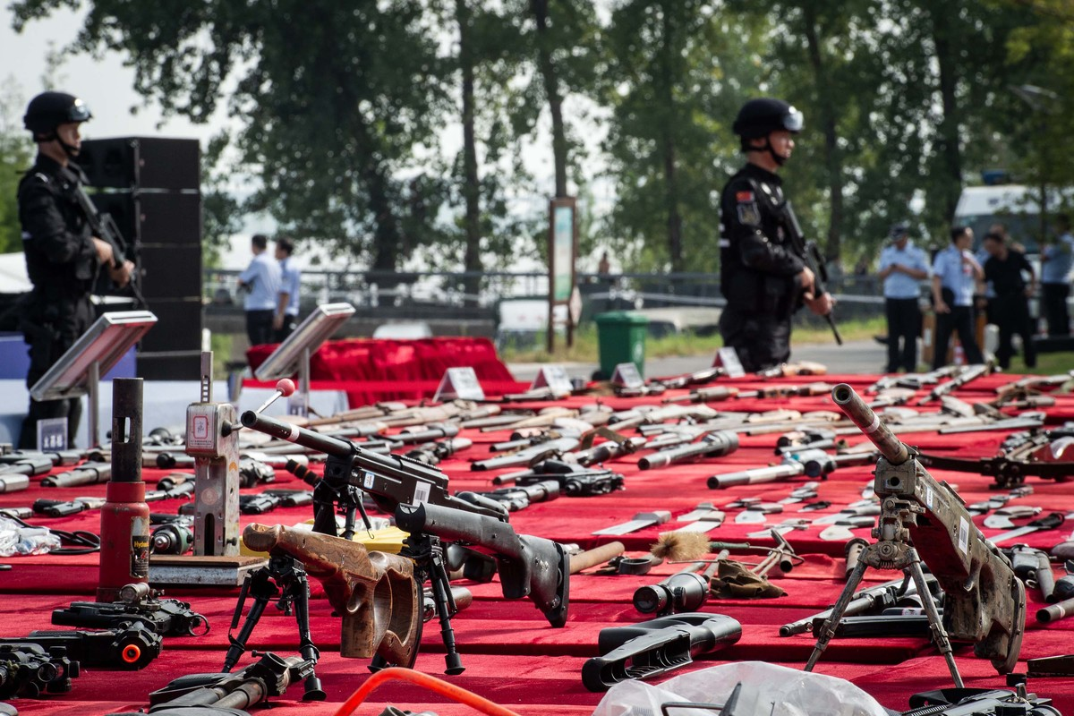 Crackdown on illegal firearms underway