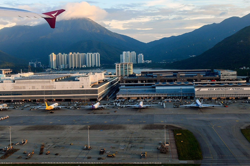 HK airport cancels all flights for second day amid protests